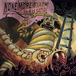"None More Black ""This Is Satire"" LP"