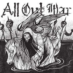 "All Out War ""Drowning In Damnation"" 7"""