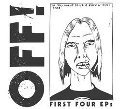 "Off! ""First Four EPs"" CD"