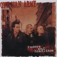 "One Man Army ""Rumours & Headlines"" CD"