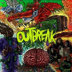 "Outbreak ""<i>self titled</i>"" CD"