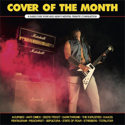 "Paranoid ""Cover Of The Month"" LP"