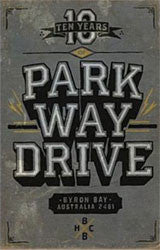 "Parkway Drive ""Ten Years Of Parkway Drive"" Book"