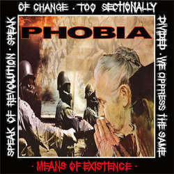 "Phobia ""Means Of Existence"" LP"