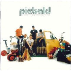 "Piebald ""We Are The Only Friends We Have"" CD"