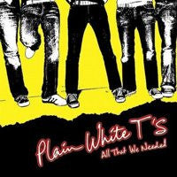 "Plain White T's ""All That We Needed"" CD"