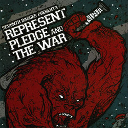 Pledge/Represent/The War 7""