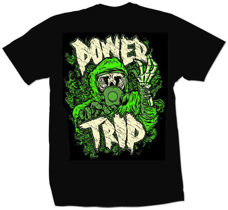 "Power Trip ""Gasmask"" T Shirt"