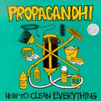 "Propagandhi ""How To Clean Everything"" CD"