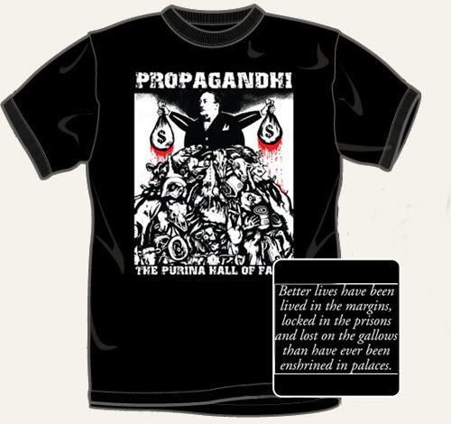 "Propagandhi ""Purina"" Black T Shirt"