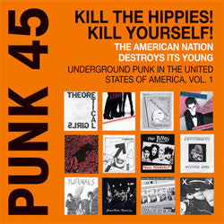 "Various Artists ""Punk 45 Vol 1 1973 - 1980"" 2xLP"