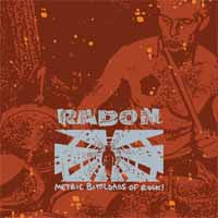 "Radon ""Metric Buttloads Of Rock"" CD"
