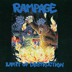 "Rampage ""Limit of Destruction"" CD"