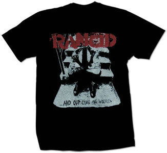"Rancid ""And Out Comes The Wolves"" T Shirt"