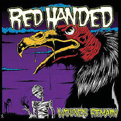 "Red Handed ""Wounds Remain"" CD"