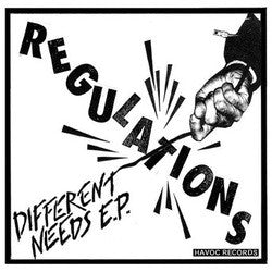 "Regulations ""Different Needs"" 7"""