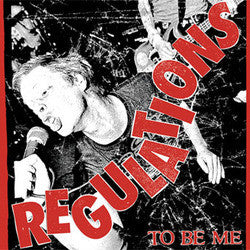 "Regulations ""To Be Me"" CD"