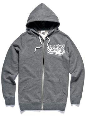 Resist Grey Zip Hood