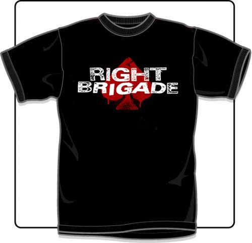 Right Brigade Logo T Shirt Medium