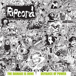 "Ripcord ""The Damage Is Done / Defiance Of Power"" LP"