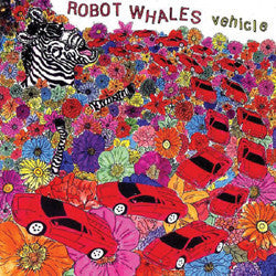 "Robot Whales ""Vehicle"" CD"