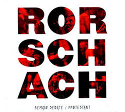 "Rorschach ""Remain Sedate / Protestant"" 2 x LP"