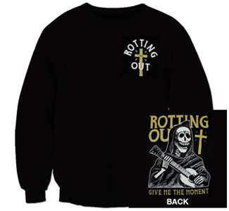 "Rotting Out ""Reaper"" Crew Neck Sweatshirt"