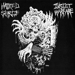 "Hatred Surge / Insect Warfare ""Split"" 7"""