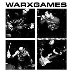 "Warxgames ""9 Trax/No Nightmare"" 7"""