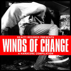 "Various Artists ""React! Records Presents Winds Of Change"" 7"""