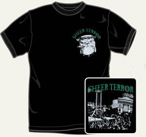 Sheer Terror Bulldog T Shirt