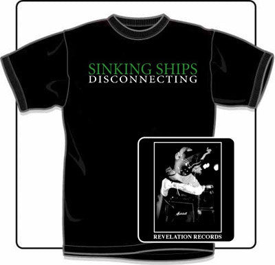 Sinking Ships Disconnecting T Shirt