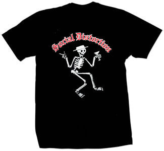 "Social Distortion ""Skelli Old English"" T Shirt"