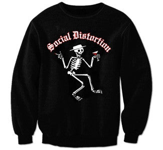 "Social Distortion ""Skelli"" Crewneck Sweatshirt"