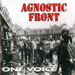"Agnostic Front ""One Voice"" LP"