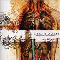 "A Static Lullaby ""And Don't Forget To Breathe"" CD"