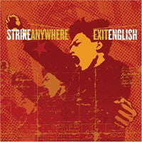 "Strike Anywhere ""Exit English"" CD"
