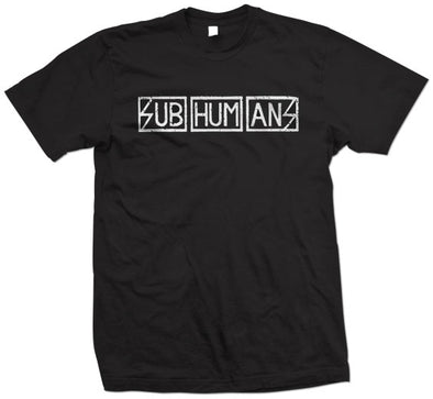 "Subhumans ""Logo"" T Shirt"