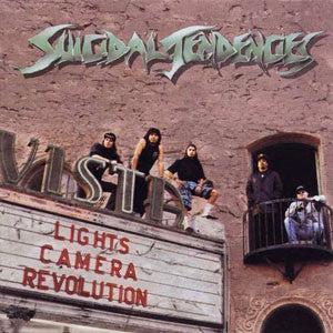 "Suicidal Tendencies  ""Lights Camera Revolution"" LP"