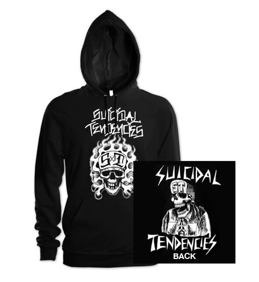"Suicidal Tendencies ""OG Flipskull"" Hooded Sweatshirt"