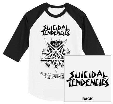 "Suicidal Tendencies ""Possessed"" 3/4 Shirt"
