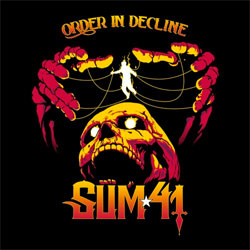 "Sum 41 ""Order In Decline"" CD"