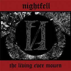 "Nightfell ""The Living Ever Mourn"" LP"