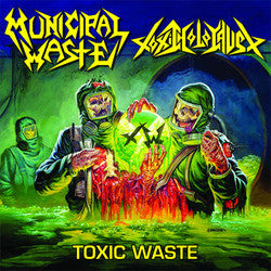 Municipal Waste/Toxic Holocaust 12""