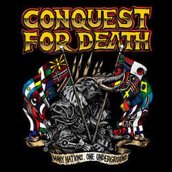 "Conquest For Death ""Many Nations, One Underground"" LP"