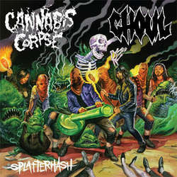 "Cannabis Corpse / Ghoul ""Splatterhash"" CD"