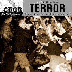 "Terror ""Live June 10, 2004 - The Bowery Collection"" DVD"
