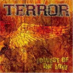 "Terror ""Lowest Of The Low"" CD"