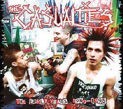 "The Casualties ""The Early Years Reissue"" CD"