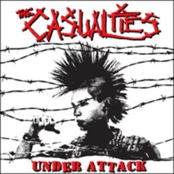 "The Casualties ""Under Attack"" CD"